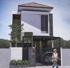 Landscape architecture ideas facades 43 Ideas for 2019 Landscape Design Small, House Landscape, Landscape Architecture, Architecture Design, Exterior House Colors Combinations, House Paint Color Combination, Narrow House, Box Houses, Modern Buildings