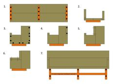 Urban Gardening: Hochbeet selber bauen – Eine Bauanleitung Bar Chart, Gardening, Floor Plans, Inspiration, Patio, Gutter Garden, Compost, Little Gardens, Biblical Inspiration