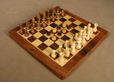 Sheesham Floding 3 in 1 Combo Board.  Chess, Checkers and Backgammom