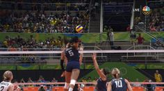 U.S. women topple Japan in three sets to reach semifinals