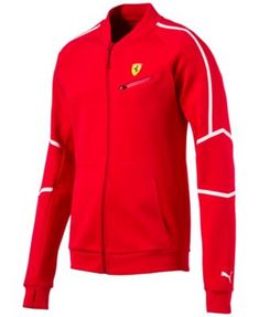 5fe8d3fcb9e Elevate your laid-back look in this sleek Ferrari-inspired track jacket  from Puma.