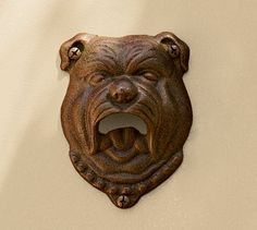 Bulldog Bottle Opener by Pottery Barn
