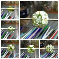 I really like the work in progress photo Shootings. They illustrate very clear the development of my beads while I'm creating them. Here is ...