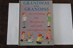 A personal favorite from my Etsy shop https://www.etsy.com/listing/223147694/grandmas-and-grandpas-by-alice-low