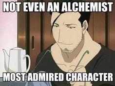 Fullmetal alchemist - Maes Hughes