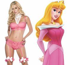 17c7526cd Marca cria lingeries inspiradas nas princesas da Disney (e a da Cinderela é  bem sexy!)