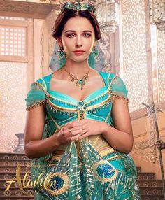 Princess Jasmine from Disney's live action movie, Aladdin Walt Disney, Punk Disney, Disney Live, Disney Princesse Jasmine, Jasmine E Aladdin, Princess Jasmine Costume, Aladdin Film, Watch Aladdin, Aladdin Play
