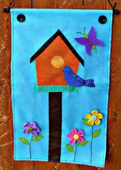 Super Spring Flag Garden Craft