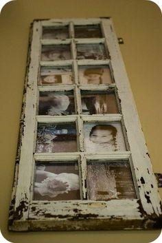 old window pane