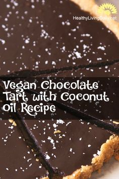 Vegan chocolate and coconut oil offer health benefits that improve brain function and helps reduce high blood pressure. Read this article to learn how to prepare this recipe. 👌😘😍🍫🥥  #chocolatetartwithcoconutoil #coconutoil #coconutoilrecipe #tart #chocolatetart #tartwithcoconutoil #veganchocolate #veganchocolatetart #tartrecipe #chocolatetartrecipe #oatcrust #veganchocolatetartrecipe #healthyfood #healthylivingdaily #followme #follow