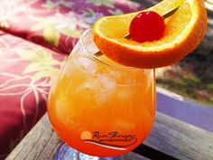 Tropical Sunrise - copyright Rum Therapy