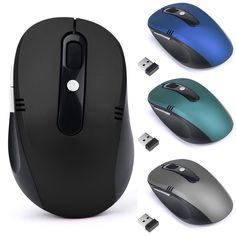 Fast Moving 2.4GHz Wireless Mouse USB Optical Scroll Mice for Tablet Laptop Computer Luxury Top Selling Opto-electronic Mice 722 #jewelry, #women, #men, #hats, #watches, #belts, #fashion