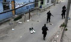 23 imagens impressionantes da ocupação do Complexo da Maré