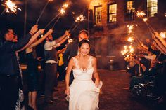 Sparkler Ending! #sparklerending #exit  Destination Wedding-Savannah Round House Museum #savannah #obscuraphotoworks.com #photography #wedding #weddingphotography #destinationweddings #edgy #photojournalism #railroad #trains