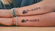 80 Sister Tattoos That Will Melt Your Friggin& Heart - Page 6 of 8 - Straigh. - 80 Sister Tattoos That Will Melt Your Friggin& Heart – Page 6 of 8 – Straight Blasted - Twin Tattoos, Sibling Tattoos, Bff Tattoos, Family Tattoos, Friend Tattoos, Word Tattoos, Small Tattoos, Feather Tattoos, Tatoos