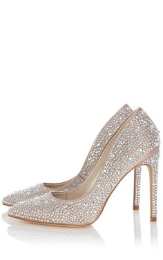Karen Millen Crystal Encrusted Pump - Limited Edition : Limited Editions