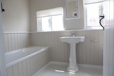 bathroom wood cladding - Google Search
