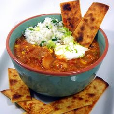 Inspired By eRecipeCards: Better Than Chili's Enchilada Soup... Now a Stew