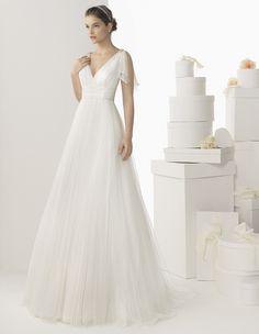 Romantic Modified Grecian Style    Rosa Clara Wedding Dresses 2014 Part I