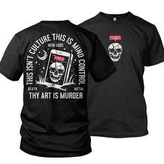 Thy Art Is Murder, Metal Shirts, New Gods, T Shirt, Supreme T Shirt, Tee, Tee Shirt