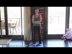 YouTube video - Yoga For Diastasis Recti (how to help heal and tone your abdominal muscles after the birth of a baby)