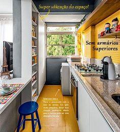 10 dicas para cozinhas pequenas