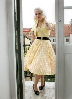 Bolero for 50's style outfit