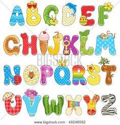 abecedario creativo para imprimir - Buscar con Google