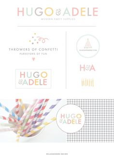 Deluxemodern Brand Studio | Logo Design, Photo Styling, Custom Brand Design.