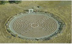 Redsun giant labyrinth with large stone gated entrance.