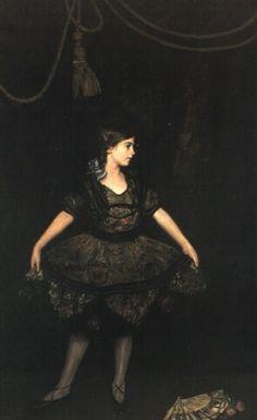 The dancer in black by John da Costa