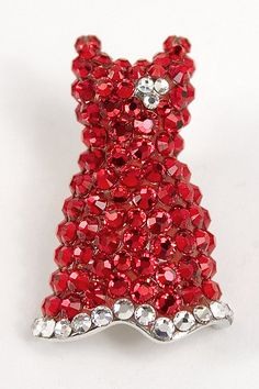 Red Dress Pin ~ GO RED for Heart Disease in Women...#1 Killer of women!