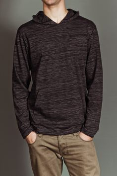JackThreads - Rayray Space-Dyed Hoodie Sweater Iron