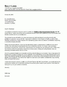 letter of introduction for an english teacher more specifically for this english teacher cover letter gets your attention right away we have developed art teacher cover letter examples