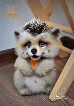 Hedgehog Eremey By Feyaya - Bear Pile