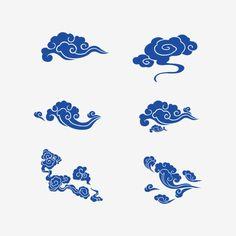 구름,구름,무늬,라인,무늬,구름이,배경,삽화,중국,모드,고전,복고,장식,중국식,블루,골동품,자유형,클래식 패턴, Body Sketches, Drawing Sketches, Art Drawings, Wave Drawing, Et Tattoo, Oriental Pattern, Japanese Culture, Fabric Painting, Traditional Art