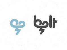 Bolt.  Logo design
