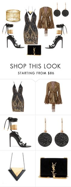 """""""Untitled #1998"""" by deirdre35 on Polyvore featuring Anna Sui, Tom Ford, Astley Clarke and Yves Saint Laurent"""