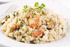 Recette de Risotto de fruits de mer au Thermomix. Facile et rapide à réaliser, goûteuse et diététique. Ingrédients, préparation et recettes associées.