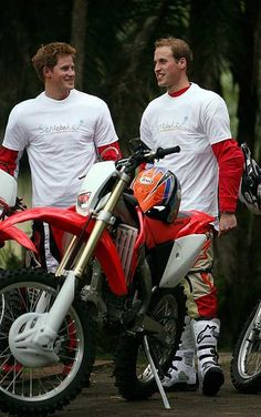 PRINCES William and Harry raised money for charity on their much-hyped motorbike ride across Africa.