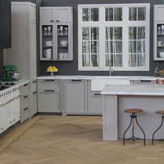 Miniature Laser Cut Kitchen Roombox 2016 by PaperDollMiniatures