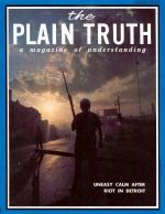 WHY You Have Those Financial Troubles Plain Truth Magazine August 1967 Volume: Vol XXXII, No.8 Issue: