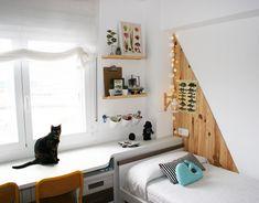 Diy cabecero moodboard de madera con doble función: proteger la pared e inspirar ¿Lo hacemos juntos?