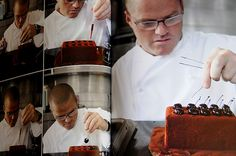 This is an image of Heston - It captures his character as a chef (he is a perfectionist). Figure 5
