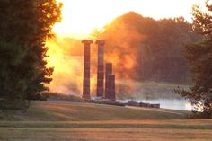 The Pillars, Pioneer Park, Lincoln, NE. 101 Things to Do in Lincoln
