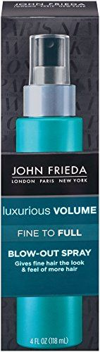John Frieda Luxurious Volume Fine to Full Blow Out Spray 4 Fluid Ounce *** Learn more by visiting the image link.