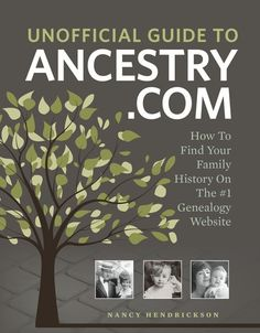 Our new book, Unofficial Guide to Ancestry.com, is now on pre-order!