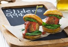 Meatball Sliders | Chloe Coscarelli - Vegan Chef
