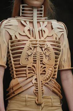 Skeleton couture