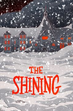 The Shining - movie poster - Max Temescu